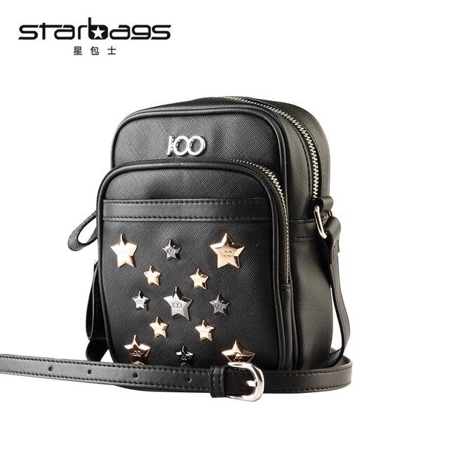 11c69cabdb Starbags handmade rivet men s small Messenger Bag casual flap Shoulder  Crossbody Bags male men pu leather bag