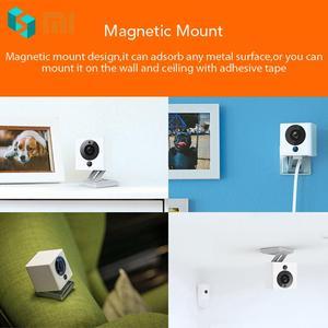 Image 2 - Оригинальная смарт камера Xiaomi Mijia CCTV Xiaofang с цифровым зумом IP 110 градусов F2.0 8X 1080 P, WIFI, беспроводная камера управления, ночное видение