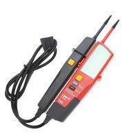 Auto Voltage Tester UNI T UT18D Voltage Detector Pen LED/LCD Display UNI T UT18D Voltage Tester Pen Flashlight UT18D On Sale