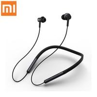 Original Xiaomi Mi Bluetooth Neckband Earphones Headphone Hybrid Dual Driver Apt X Support AAC Codec Microphone