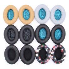 Substituição almofadas de ouvido almofada para bose qc35 qc25 qc15 qc2 ae2 ae2i ae2w around orelha 2 fones de ouvido