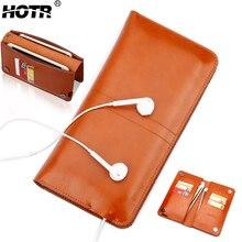 Hotr Роскошные Универсальный ПУ кожаный бумажник чехол для iPhone 6 Чехол для iPhone 7 7 Plus для Samsung S7edge Магнитный откидная крышка