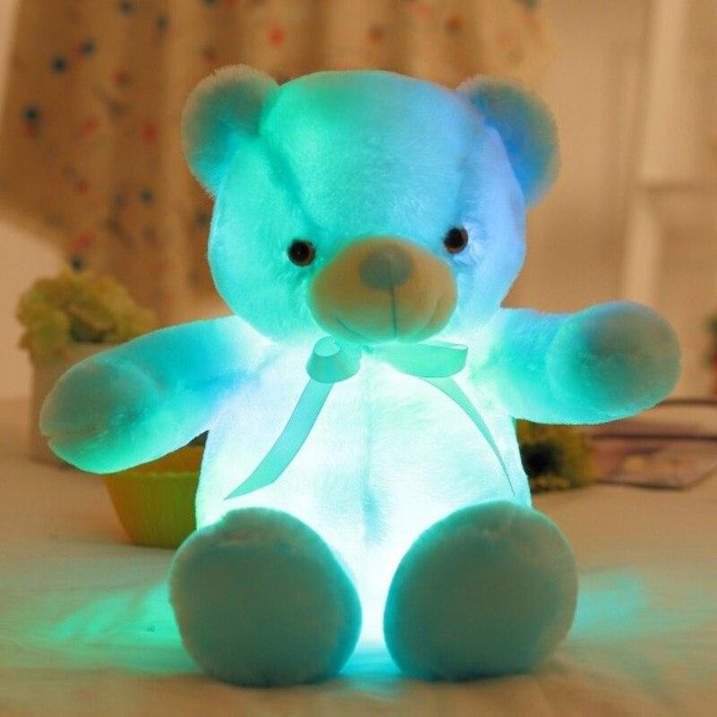 Stuffed e Plush Animais led indutivo brinquedo de incandescência Name : Led Teddy Bear