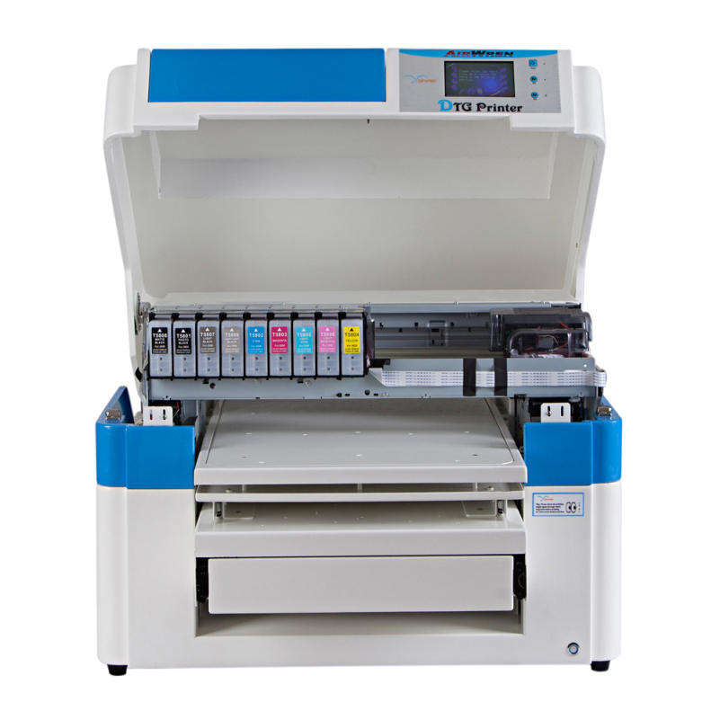 Industrial and commercial use A2 large t shirt printer direct to garment inkjet t shirt printing machine