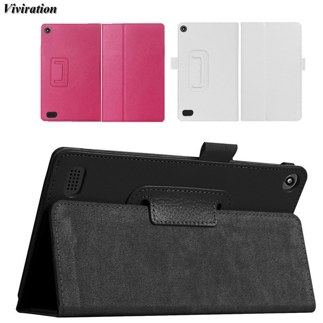 Viviration fashion pu high quality tablet accessories flip leather 7 viviration fashion pu high quality tablet accessories flip leather 7 inch tablet cover for amazon kindle publicscrutiny Image collections