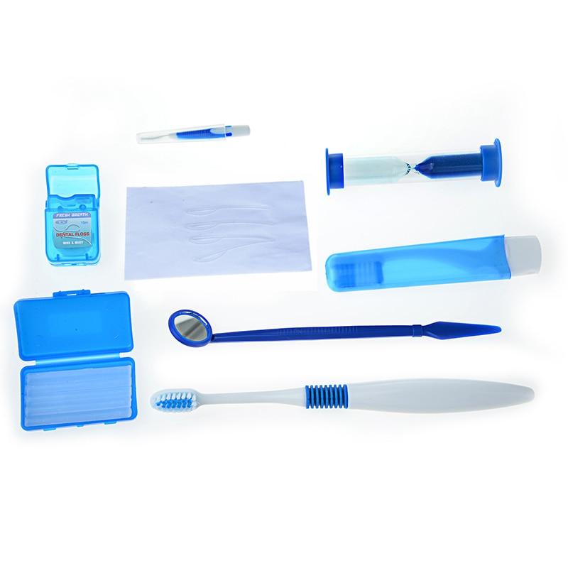 5 Sets Oral limpiar herramientas ortodoncia Cuidado Oral Kit blanqueamiento  de dientes traje cepillo de dientes cepillo Interdental hilo Dental espejo  de ... b94d5731939d
