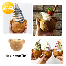 цена на Electric Big Open Mouth Taiyaki 110V 220V Ice Cream Bear Waffle Cones Maker Making Machine Baker Iron Plate