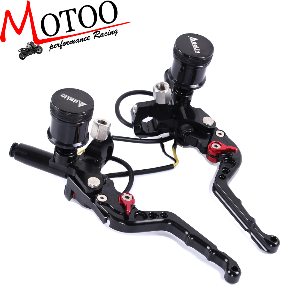 Motoo - 7/8 Adelin Front Brake Clutch Hydraulic Master Cylinder Lever статуэтка африканка 7 8 32см 1096506