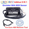 Mais novo Emulador ADBLUE Emulator 8 EM 1 V3.0 Com Sensor De NOX suporta Euro 4 & 6 Remover A Ferramenta Para a Ford e 7 Tipos de Caminhão OBD2 Scanner