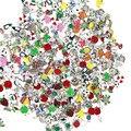 100 шт. плавающий медальон, шармы, милые живые шармы, цинковый сплав, DIY шармы, подходят для живой памяти, медальон, оптовая цена в качестве пода...