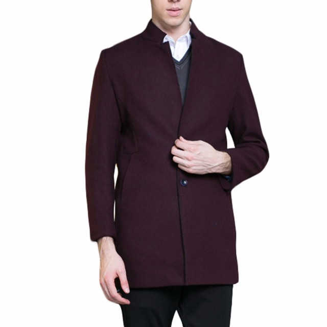 Aliexpress.com : Buy 2017 Men Winter Jacket Wool British Style Men ...