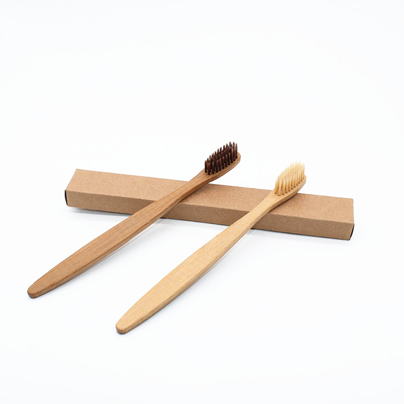 Natural Bamboo Toothbrush Soft Bristle Toothbrush Brush Head Oral Hygiene Toothbrush Brosse A Dent Hand Brush For Dental Care