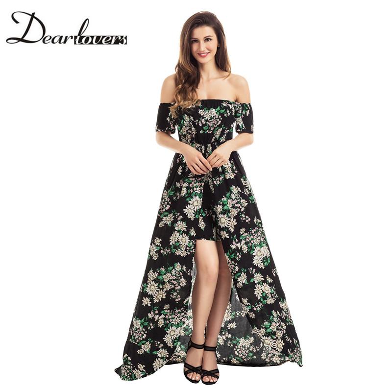 HTB1MVvJRXXXXXaUXXXXq6xXFXXXv - Maxi Dress Floral Slit Romper Long Dress JKP062