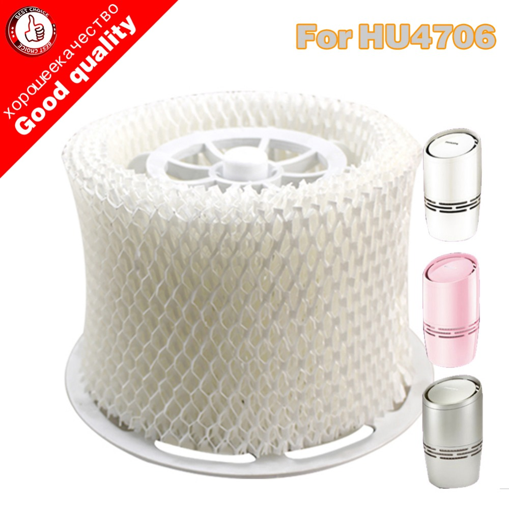 Free shipping OEM HU4706 humidifier filters,Filter bacteria and scale for Philips HU4706 Humidifier Parts 1 piece humidifier parts hepa filter bacteria and scale replacement for philips hu4706 hu4136