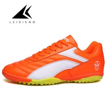 Leixiang niños hombres Fútbol tacos Zapatos zapatos de futbol corte Dura al  aire libre entrenadores Sport sneakers fútbol Botas Zapatos 757d5ed0ebd9e