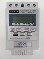 1 PCS English Version Microcomputer Control Switch KG316T Street Lamp Time Switch Time Controller Electronic Timer