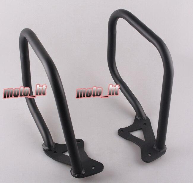 Protetor traseiro Guarda Motor Rodovia Bater Bar Para BMW K1600GTL 2011  2012 2013 2014 Preto 5af12c171d