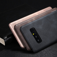 X Level For Samsung Galaxy Note 8 Note8 Luxury Business PU Leather Phone Case Retro Ultra
