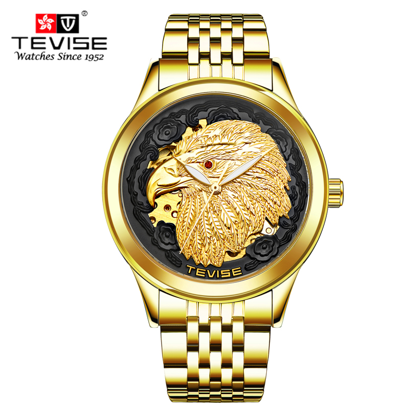 Tevise Brand Fashion Luxury Relogio Men's Watches Automatic Watch Self-Wind Clock Male Business Waterproof Mechanical Watches tevise mens top brand luxury self wind wristwatch man mechanical watches automatic watch fashion male clock relogio masculino