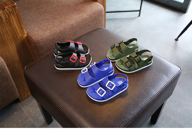 de idade do bebê das crianças sandálias antiderrapantes crianças