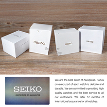 SEIKO Shield No. 5 Luminous gold pointer dual calendar white plate automatic machinery Ladies Watch  SYMA35K1