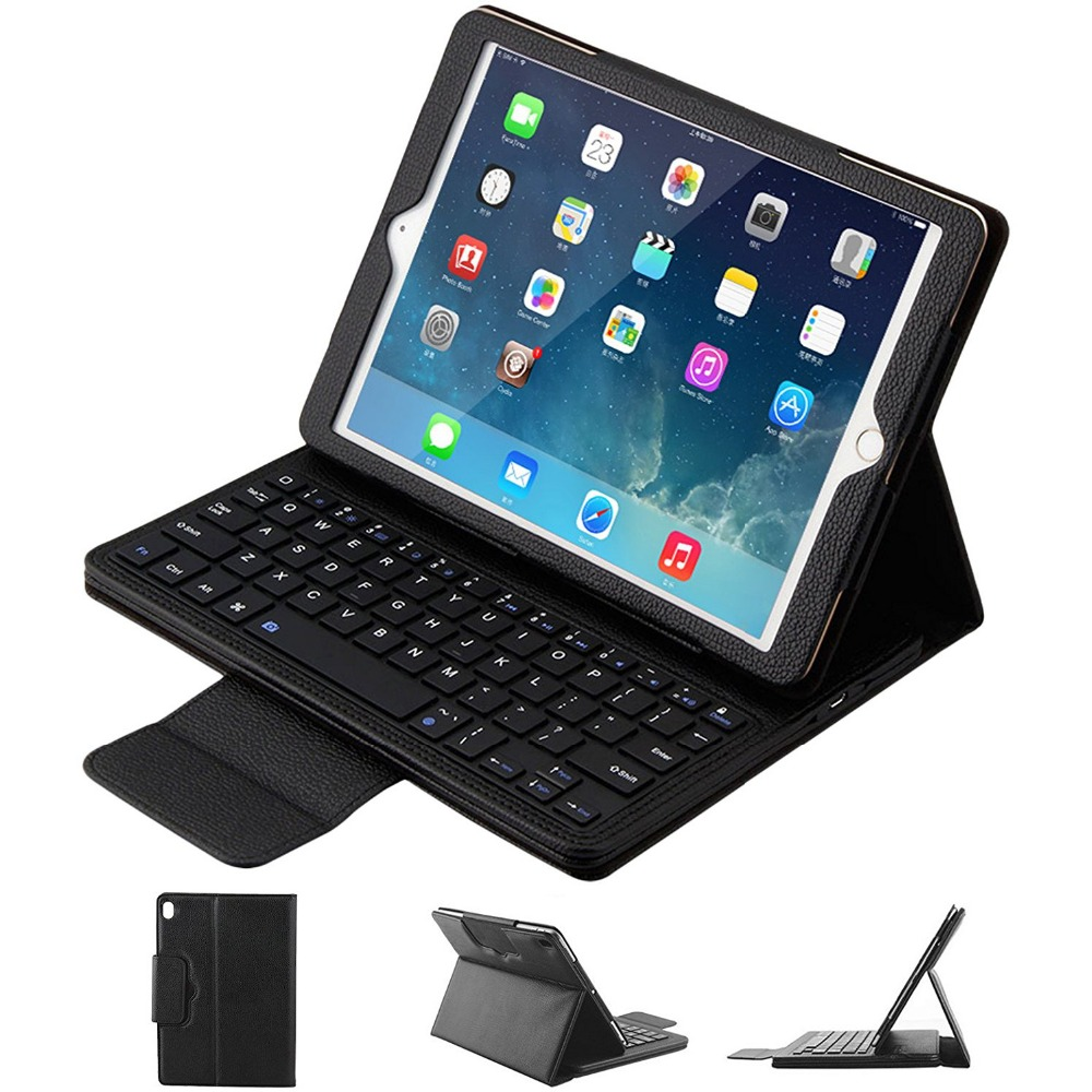 GOOJODOQ Case For iPad 2 3 4 Bluetooth Keyboard Case + PU Leather Smart Cover Wireless Bluetooth Keyboard for ipad 2 3 4 for ipad pro 12 9 keyboard case magnetic detachable wireless bluetooth keyboard cover folio pu leather case for ipad 12 9 cover