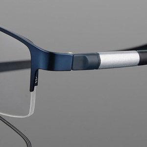 Image 3 - Eyewear סגסוגת משקפיים מסגרת גברים משקפיים אופטיים מרשם משקפיים זכר מחזה לגבר Eyewear