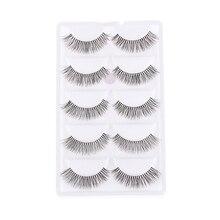 10 Pieces/1 set Natural Sparse Cross Eye Lashes Extension Makeup Long False Eyelashes MX