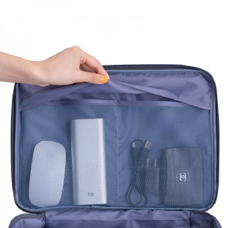 Waterproof Nylon Large Travel bag Portable Documents Holder Bag Large Capacity Organizer Bags For Certificate Ipad Digital Bags