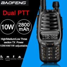Baofeng UV X9 בתוספת 10 עוצמה ווטס ווקי טוקי עוצמה נייד רדיו VHF/UHF 10km משודרג של uv 82 uv82 CB רדיו חם