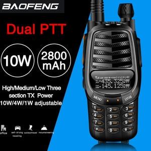 Image 1 - Baofeng UV X9 בתוספת 10 עוצמה ווטס ווקי טוקי עוצמה נייד רדיו VHF/UHF 10km משודרג של uv 82 uv82 CB רדיו חם