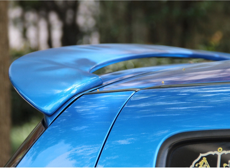 SHCHCG Car Styling For <font><b>Suzuki</b></font> <font><b>Swift</b></font> 2007-2013 ABS Material Tail Wing Unpainted Primer Color Rear Spoiler Car Accessories image