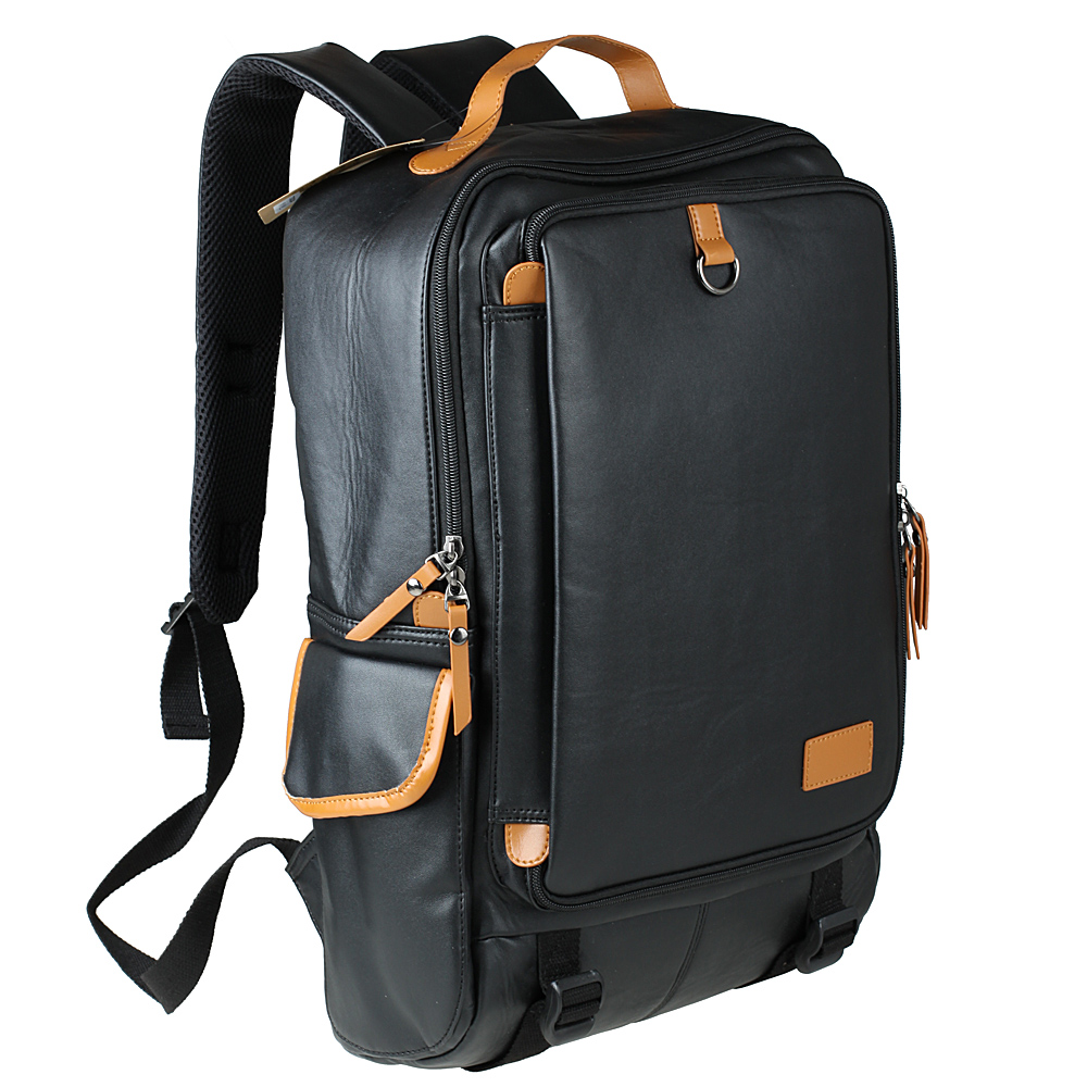 New 2015 Famous Brand High Quality Waterproof Bagpack Men Leather ...