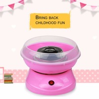 Mini Electric DIY Sweet Cotton Candy Maker Machine Portable Cotton Sugar Floss Girl Boy Gift Children
