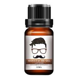 1 шт. для мужчин натуральный органический укладки масло для усов увлажняющий разглаживания лихой для Мужской Бороды масло уход за кожей