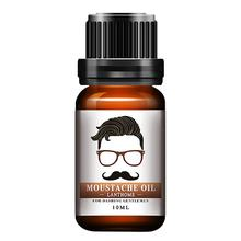1pc Men Natural Organic Styling Moustache Oil Moisturizing Smoothing Dashing Gentlemen Beard Oil Face Hair Care Top Quality(China)