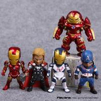 Avengers Age Of Ultron Kids Nations SF05 Iron Man Thor Hulkbuster Captain America PVC Action Figures