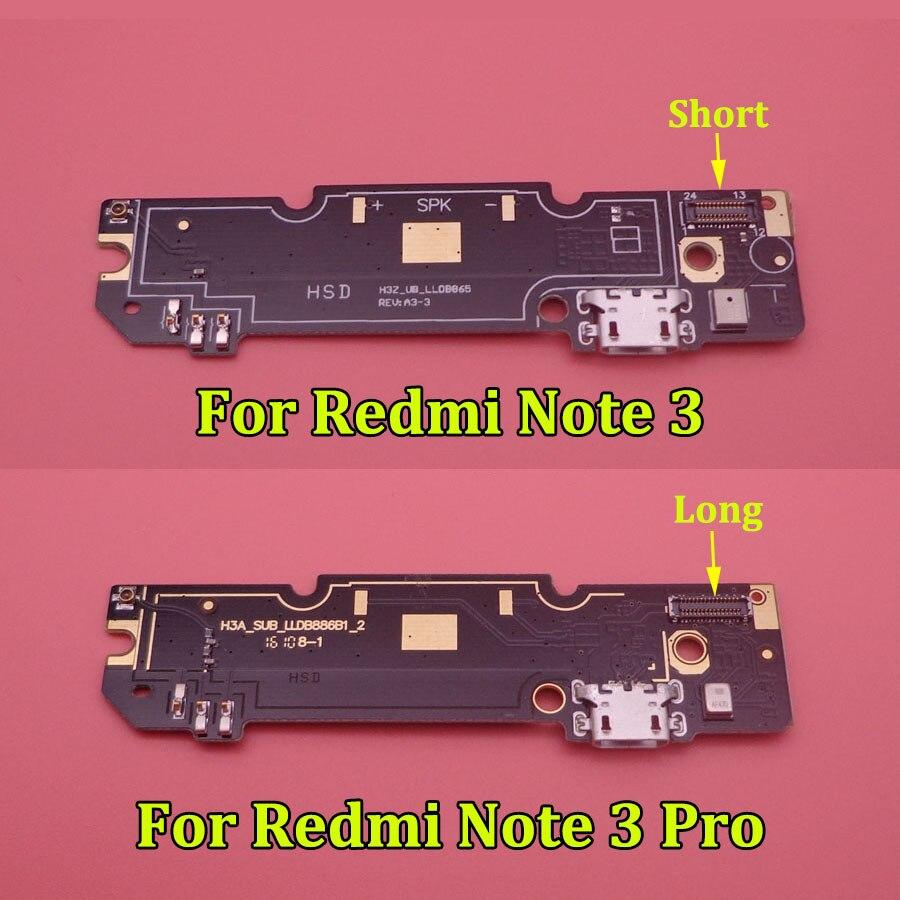 Для Xiaomi Redmi Note 3 Note3 Pro микрофонный модуль + usb-порт для зарядки плата гибкий кабель соединитель гнездо части