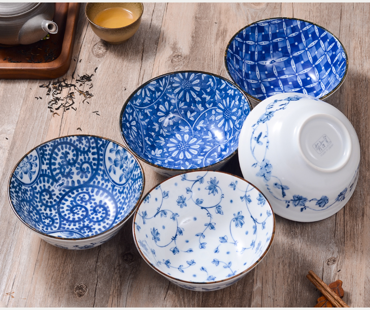 Japanese dish plate bowl floral porcelain multi patterns for Pottery painting patterns
