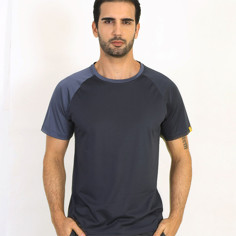 JOZSI Men Quick Dry Breathable T-Shirt Spring Summer Fitness Hip Hop Short Sleeve T-Shirts Men's Casual T Shirt