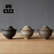 Tangpin 2016 neuankömmling japanischen handgefertigte keramik teekanne wasserkocher porzellan gaiwan tee tasse für puer japanischen tee-set