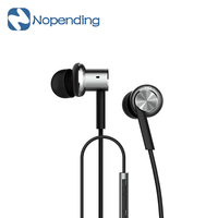 Original Xiaomi Mi IV Hybrid Earphones Wired Control Headphone With MIC For Android IOS For Cell