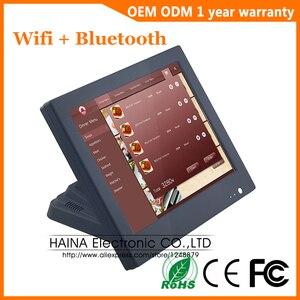 Image 1 - 15 インチ Wifi Bluetooth のタッチスクリーン POS システムオールインワンのデスクトップコンピュータ販売