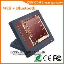 15 pulgadas Wifi Bluetooth pantalla táctil POS sistema todo en uno ordenador de escritorio para la venta