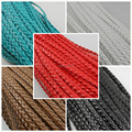 wholesale 10m/lot Man-made Leather Braid Rope Hemp Cord For Necklace Bracelet 5mm Rope Making