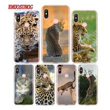 Siliconen Telefoon Case Animal Leopard snake voor Redmi 7 Y3 Y2 S2 Xiaomi Redmi Note 7 6 6A 5 5A pro Plus 4 4X Cover(China)