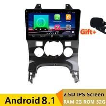 9 «2 + 32 г 2.5D ips Android 8,1 автомобильный DVD мультимедийный плеер gps для peugeot 3008 2011 2012 2013-2016 аудио Радио Стерео навигация