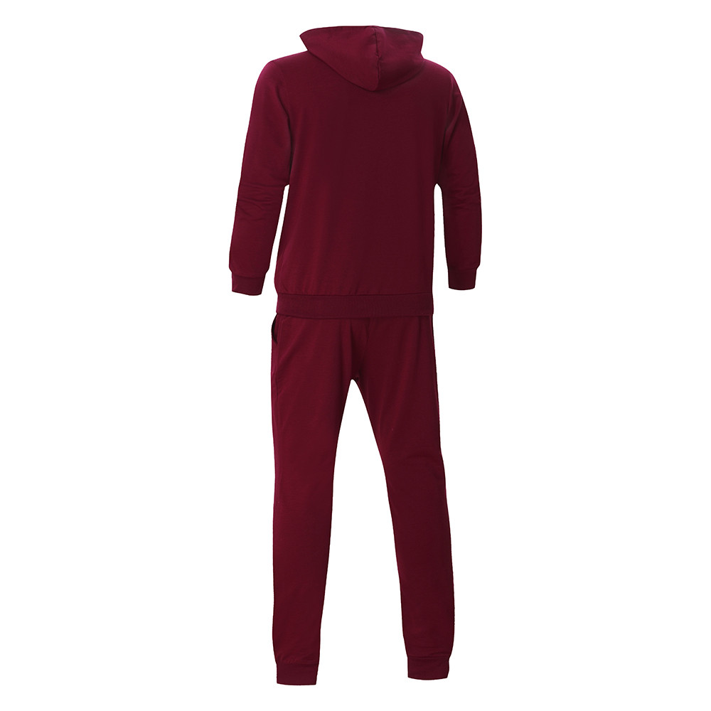 HTB1MW.MKqmWBuNjy1Xaq6xCbXXaa 2019 fashion Patchwork Zipper Sweatshirt Top Pants Sets Sports Suit solid color slim Tracksuit High Quality Pullover clothing