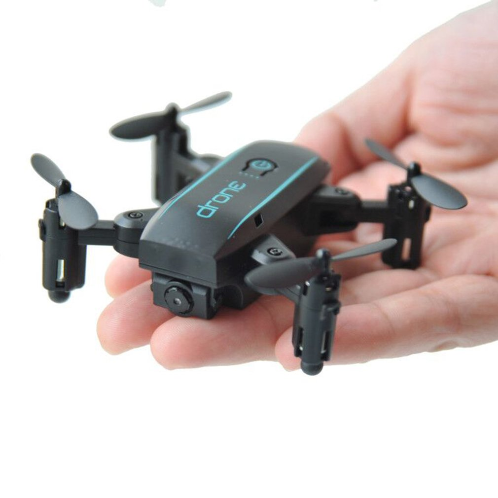 Mini 2.4G Drone FPV Wifi Micro Quadrocopter with 0.3MP Camera Foldable Arm Headless Mode RC Quadcopter Altitude Hold Helicopter