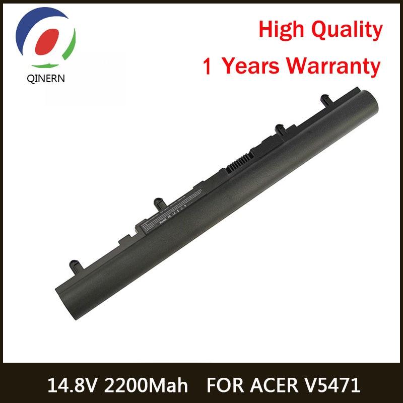 14.8V 2200MAh Laptop Battery For Acer AL12A32 4ICR17/65 V5-471G-53334G50Makk V5-471G-53334G50Mass V5-471G-53314G50Mabb
